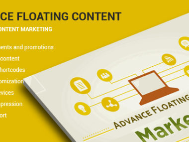 Advanced Floating Content WordPress Plugin