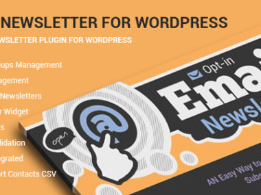 Optin Newsletter For WordPress Plugin