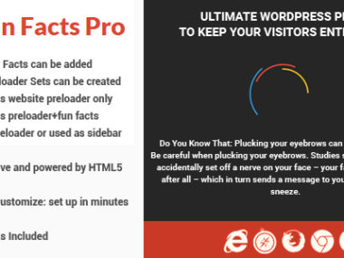 Fun Facts Pro WordPress Plugin